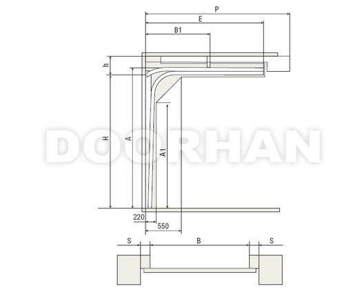 DoorHan (Дорхан) - Конструкция секционных ворот