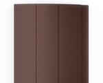 Для изготовления рольворот компания DoorHan предлагает 3 вида профилей – пенозаполненные неперфорированные, экструдированные сплошные и экструдированные с окошками. DoorHan (Дорхан) - Пенозаполненный профиль коричневый (RAL 8014)