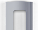 Для изготовления рольворот компания DoorHan предлагает 3 вида профилей – пенозаполненные неперфорированные, экструдированные сплошные и экструдированные с окошками. DoorHan (Дорхан) - Экструдированный профиль с окошками серебристый (RAL 9006)