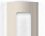 Для изготовления рольворот компания DoorHan предлагает 3 вида профилей – пенозаполненные неперфорированные, экструдированные сплошные и экструдированные с окошками. DoorHan (Дорхан) - Экструдированный профиль с окошками бежевый (RAL 1015)