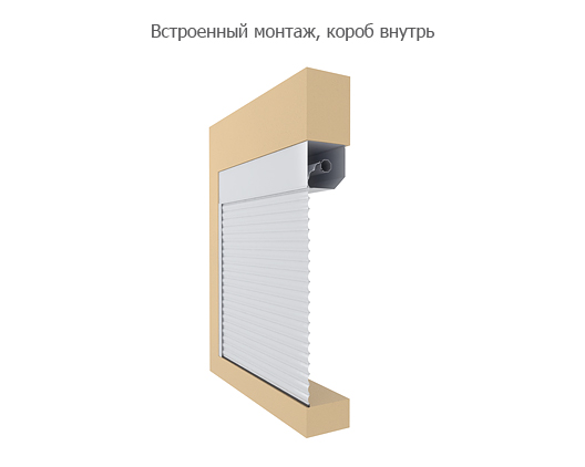 Технические характеристики и размеры DoorHan (Дорхан) - Накладной монтаж, короб наружу